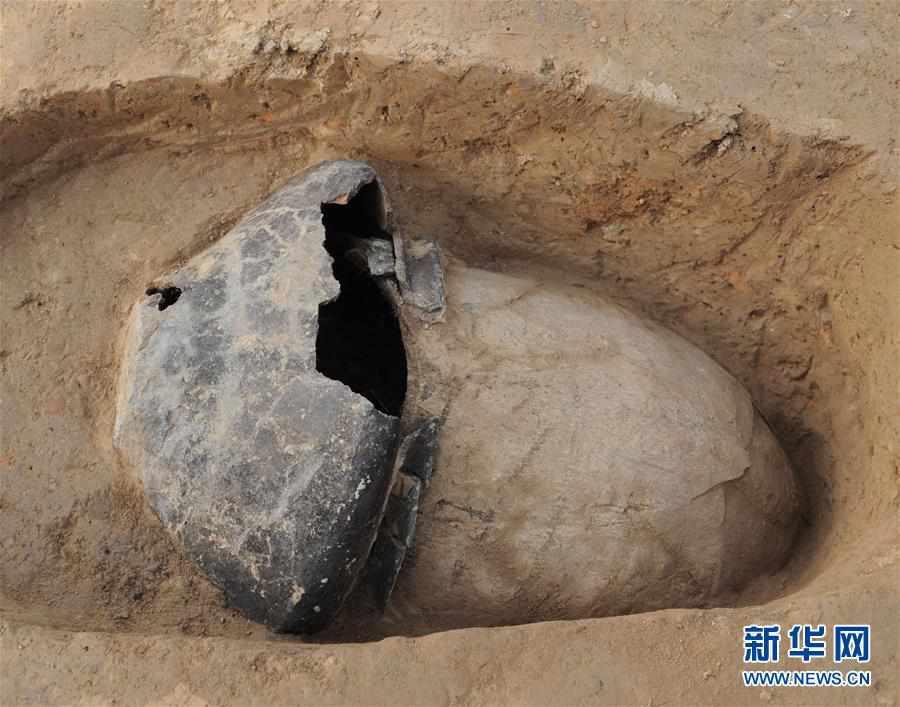 (圖文互動)(1)鄭州考古實証5000多年前中國先民已育蠶制絲