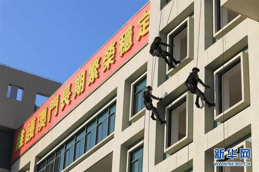 (澳门回归20周年)(1)八一军旗耀濠江――中国人民解放军进驻澳门20周年纪实