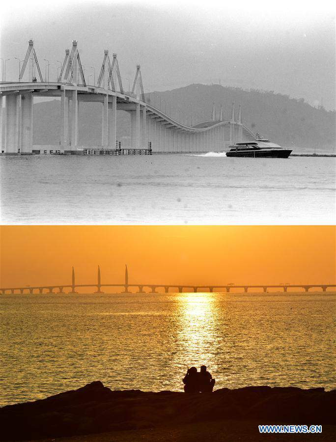 Macao's past and present in photos