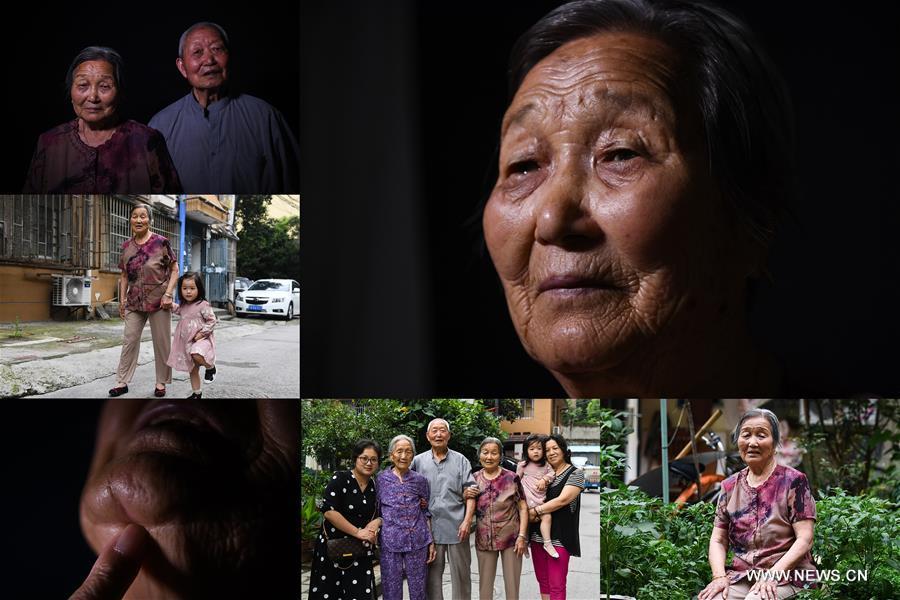 In pics: survivors of Nanjing Massacre