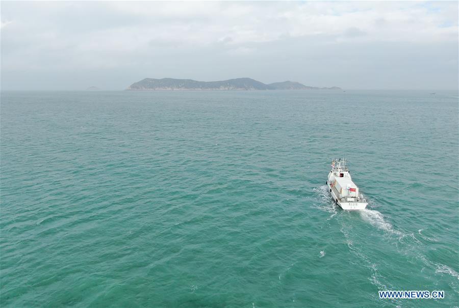 China's homemade autonomous cargo ship witnesses maiden voyage