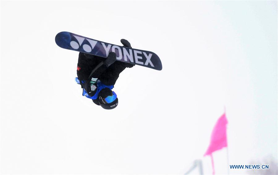 (SP)CHINA-CHONGLI-SKI-FIS SNOWBOARD HALFPIPE WORLD CUP-MEN (CN)