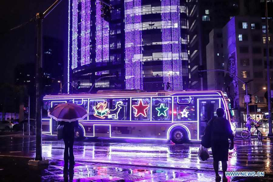 In pics: Christmas atmosphere in Sao Paulo, Brazil