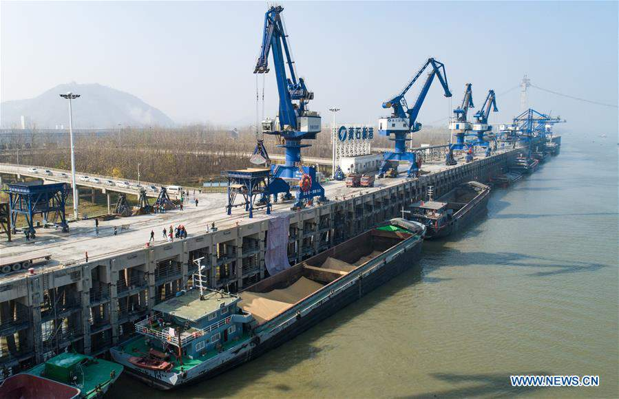 CHINA-HUBEI-PASSAGE-IMPORTED CEREAL (CN)