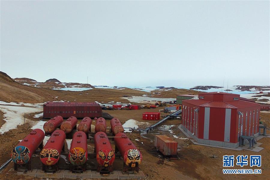 """(""""雪龙""""探南极・图文互动)(1)综述:中国第36次南极考察队员""""五大阵地""""过新年"""