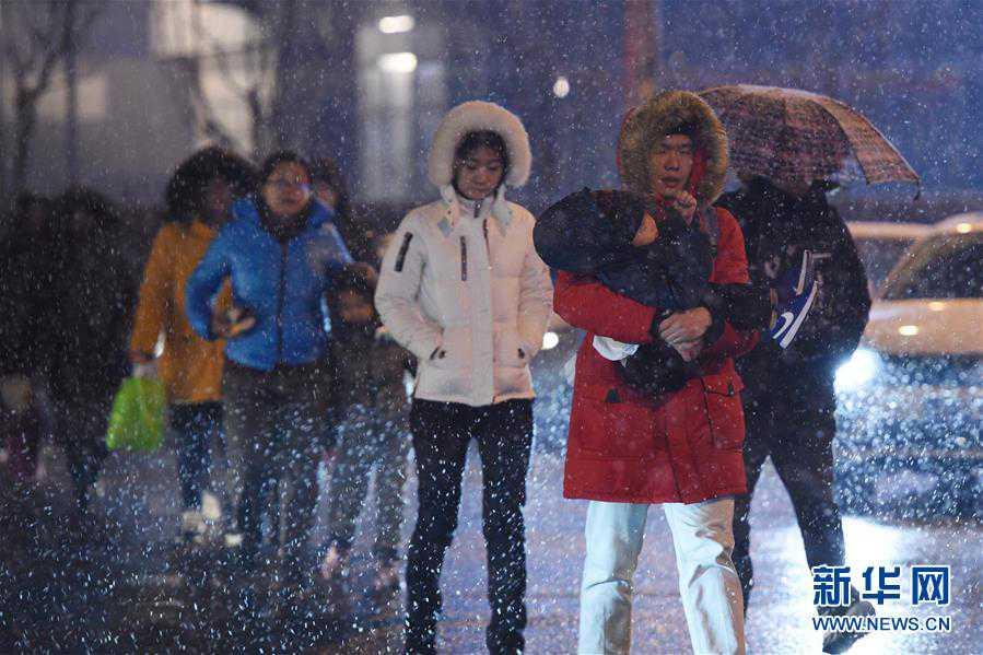 (环境)(1)北京迎降雪