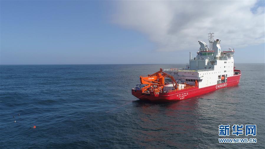 """(""""雪龙""""探南极・图文互动)(1)中国首次在南极宇航员海开展海洋生态调查"""