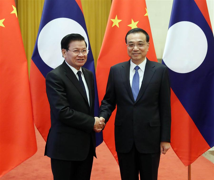 China, Laos to enhance cooperation, boost ties