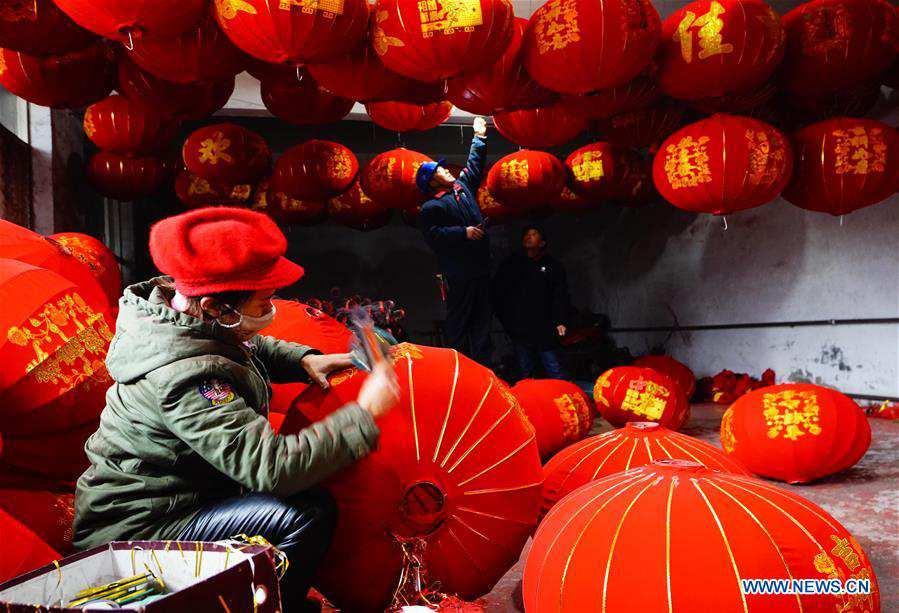CHINA-HEBEI-SHIJIAZHUANG-RED LANTERN-PRODUCTION (CN)