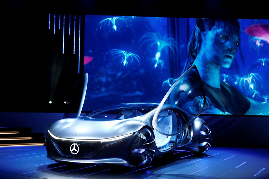 Cars with advanced concepts, tech rev up 2020 CES