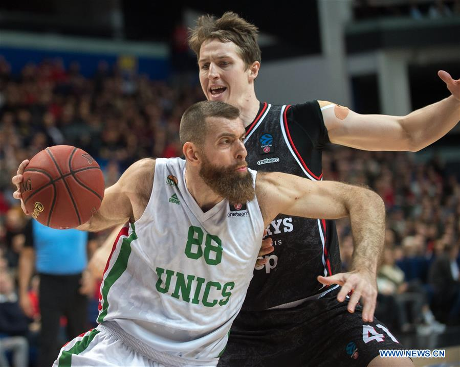 2019-2020 Eurocup basketball tournament: Rytas Vilnius vs. UNICS Kazan