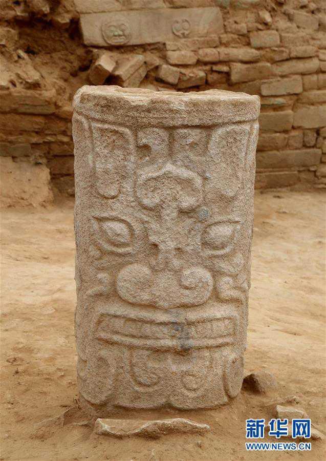 (文化)(7)陕西石峁遗址皇城台发现70余件精美石雕