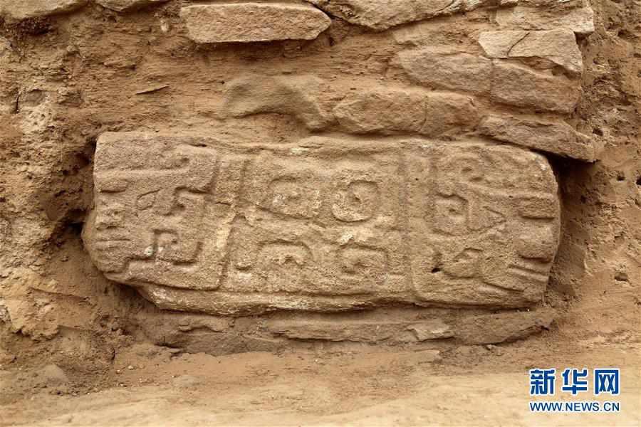 (文化)(4)陕西石峁遗址皇城台发现70余件精美石雕