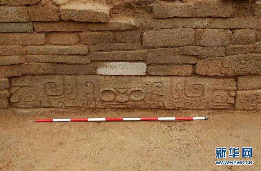 (文化)(6)陕西石峁遗址皇城台发现70余件精美石雕