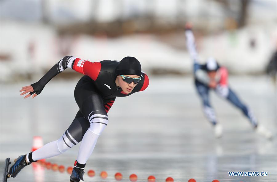 (SP)SWITZERLAND-ST.MORITZ-WINTER YOG-SPEED SKATING