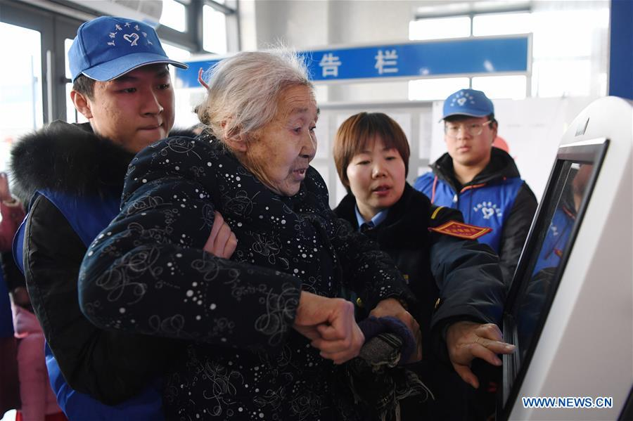 Voluntary service available in China's Gansu railway stations