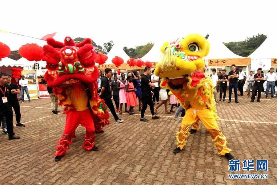 (XHDW)(2)首届乌干达华侨华人迎新春庙会成功举办