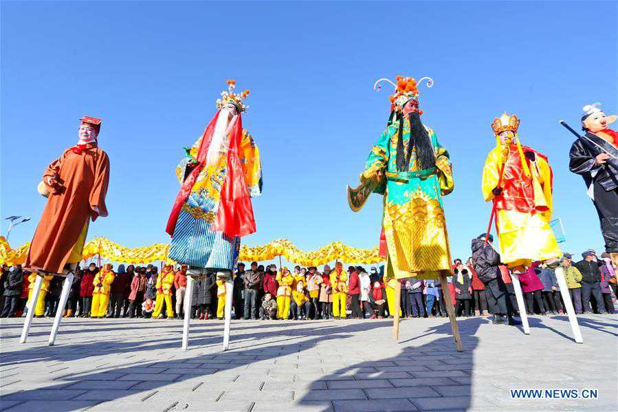 CHINA-GANSU-ZHANGYE-SHEHUO-REHEARSAL (CN)