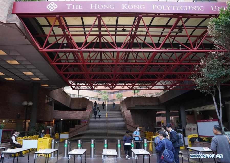 CHINA-HONG KONG-POLYU-START OF NEW TERM (CN)