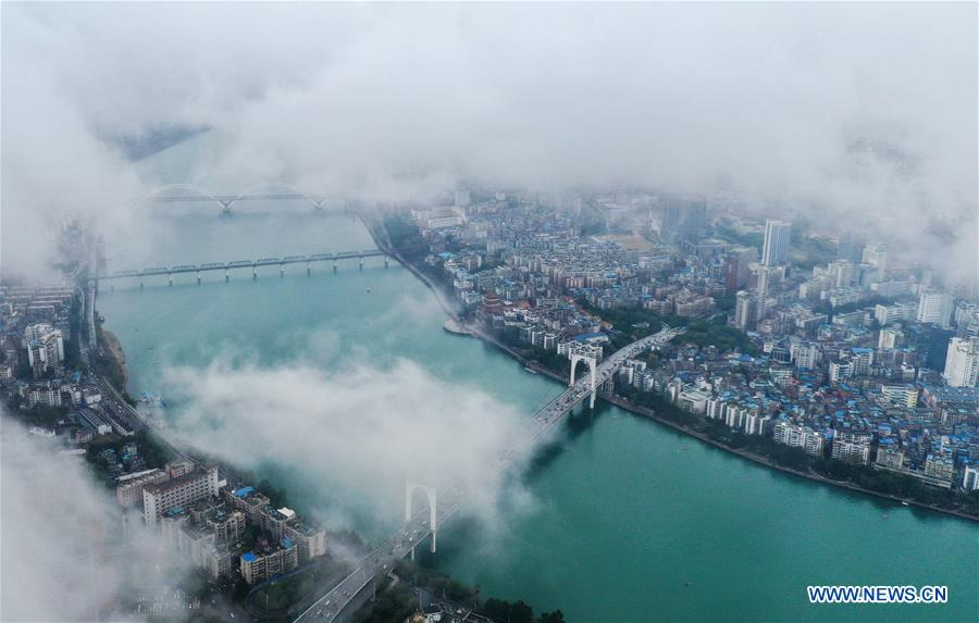 CHINA-GUANGXI-LIUZHOU-AERIAL VIEW (CN)