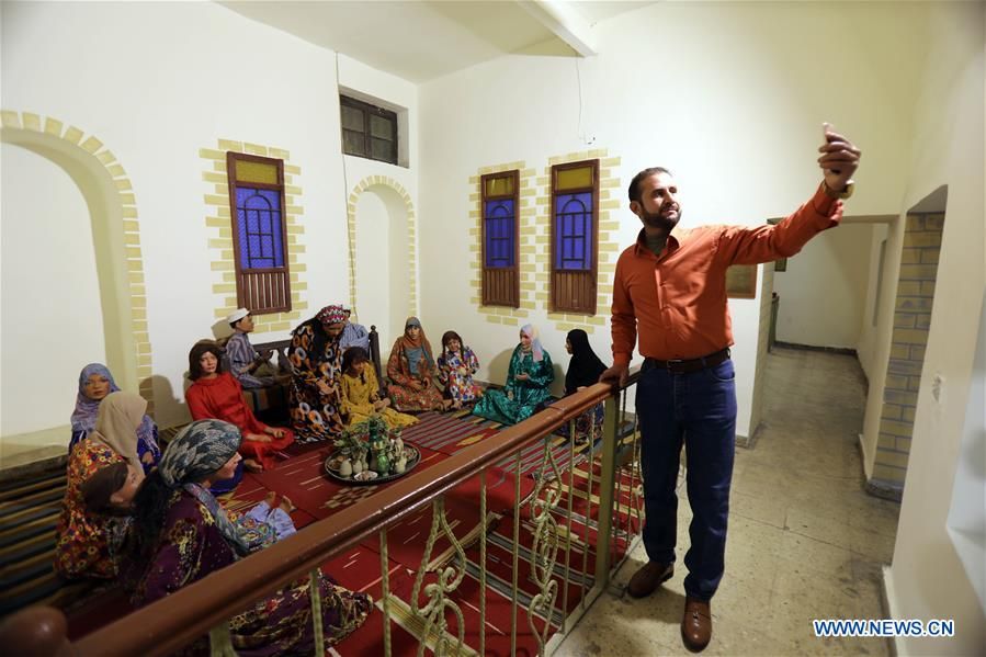People visit Baghdadi Museum in Iraq