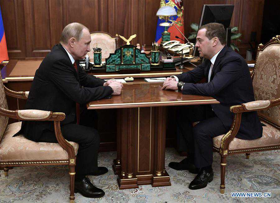 RUSSIA-MOSCOW-GOVERNMENT-RESIGN