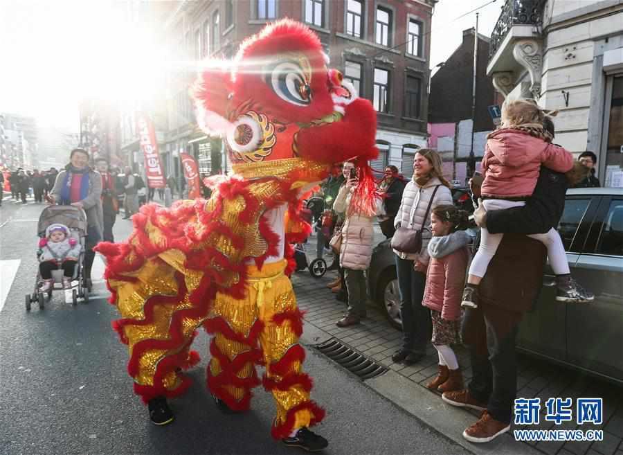 """(国际)(1)彩票站代买彩票安全吗,比利时举办""""欢乐春节""""农历新年庆祝活动"""