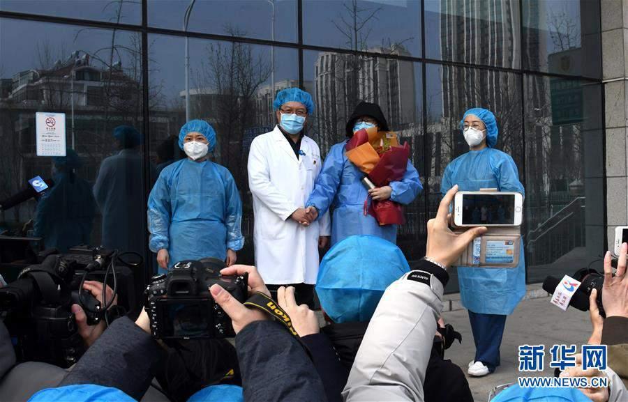 (聚焦疫情防控)(3)皖鲁渝等地多例新型冠状病毒感染的肺炎患者治愈出院