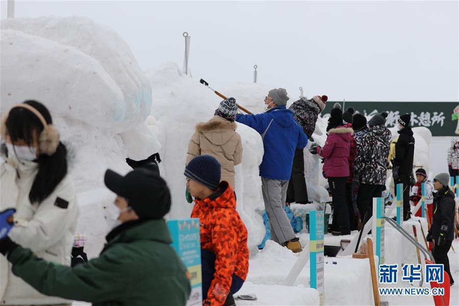 (国际)(4)日本:札幌冰雪节开幕