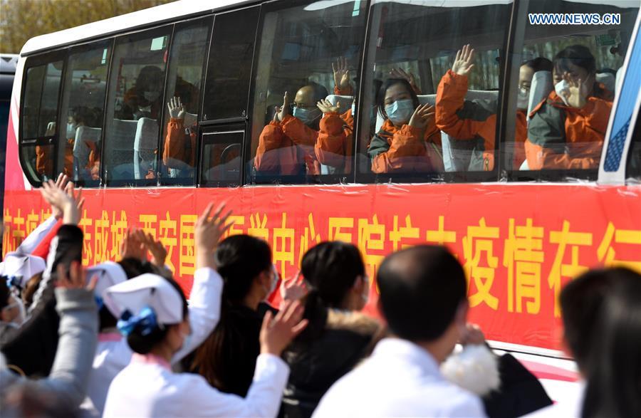 CHINA-SHAANXI-XI'AN-MEDICAL TEAM-AID (CN)