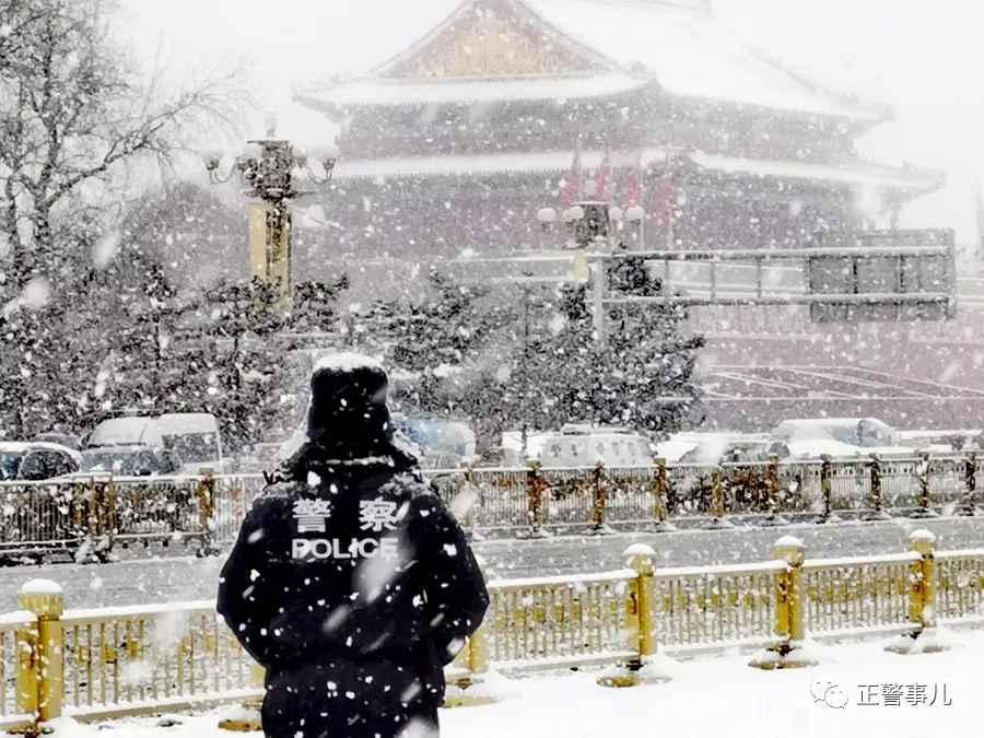 """落雪无声,疫情下属于北京的""""静"""""""