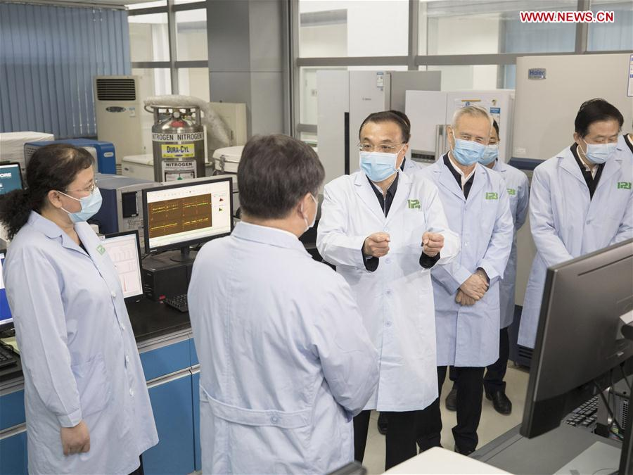 CHINA-BEIJING-LI KEQIANG-INSTITUTE OF PATHOGEN BIOLOGY-INSPECTION (CN)