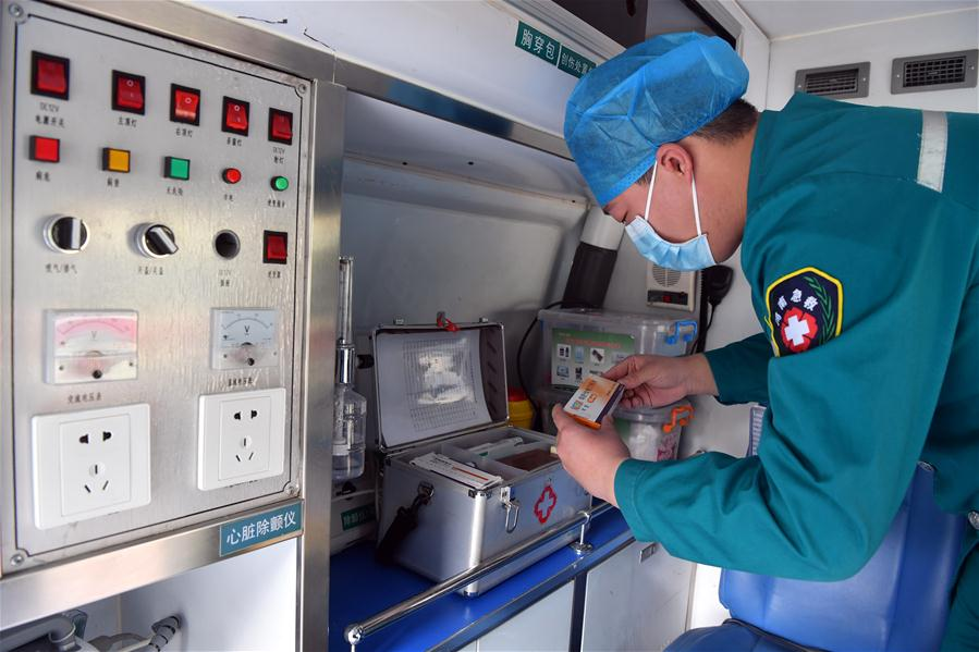 CHINA-HENAN-MALE NURSE-NOVEL CORONAVIRUS-EPIDEMIC (CN)