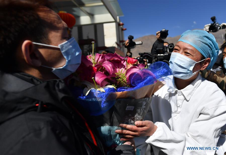 CHINA-LHASA-CORONAVIRUS-CURED PATIENT(CN)