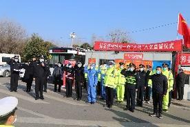 河南郏县6名防疫一线优秀工作者火线入党