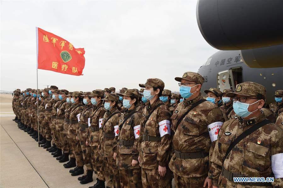 CHINA-HUBEI-WUHAN-NCP-AIR FORCE-MILITARY MEDICS (CN)