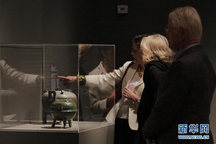 中国古代青铜礼器展览会预展在美
