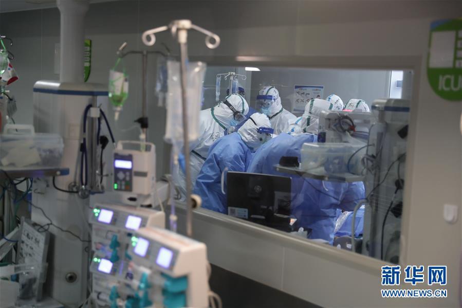 #(聚焦疫情防控)(1)武汉:多地医生联手抢救危重新冠肺炎患者