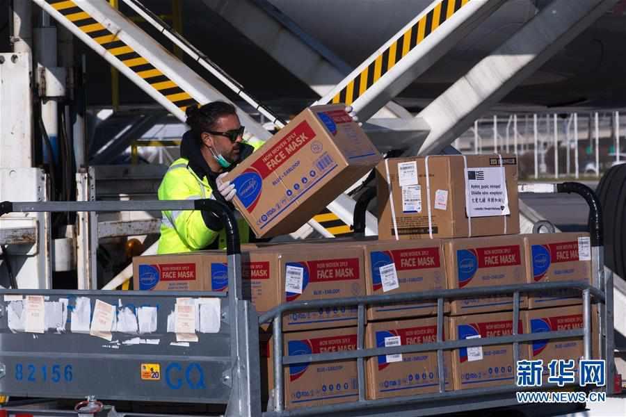 (国际疫情)(2)中国向希腊援助抗疫医疗物资