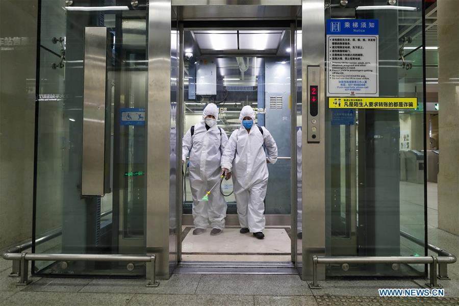 CHINA-HUBEI-WUHAN-PUBLIC TRANSPORTATION SYSTEM-PREPARATION-OPERATION RESTORATION (CN)
