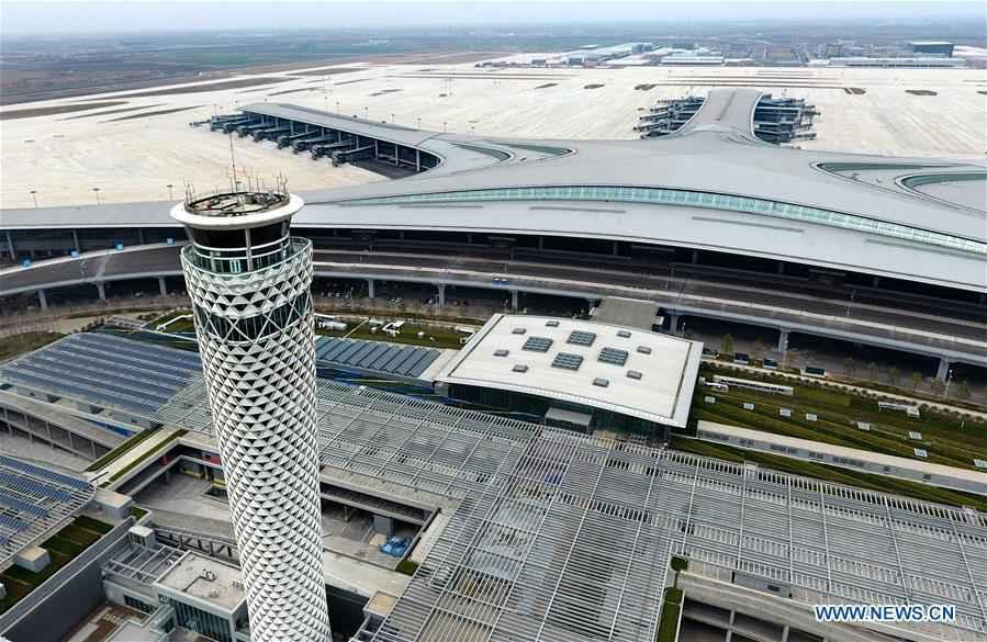 CHINA-QINGDAO-AIRPORT-CONSTRUCTION-RESUMPTION (CN)