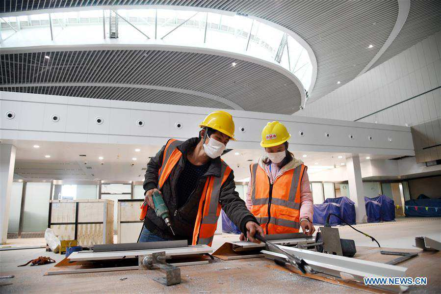CHINA-QINGDAO-AIRPORT-CONSTRUCTION-RESUMPTION (CN)