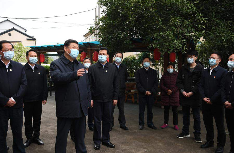 CHINA-ZHEJIANG-ANJI-XI JINPING-INSPECTION (CN)