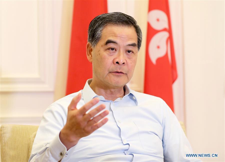 CHINA-HONG KONG-LEUNG CHUN-YING-INTERVIEW (CN)