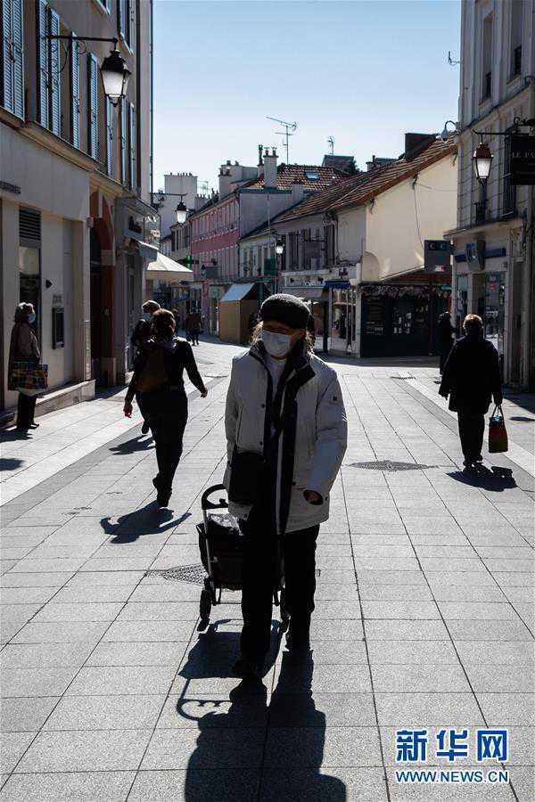 (国际疫情)(3)法国部分城市要求居民戴口罩出行