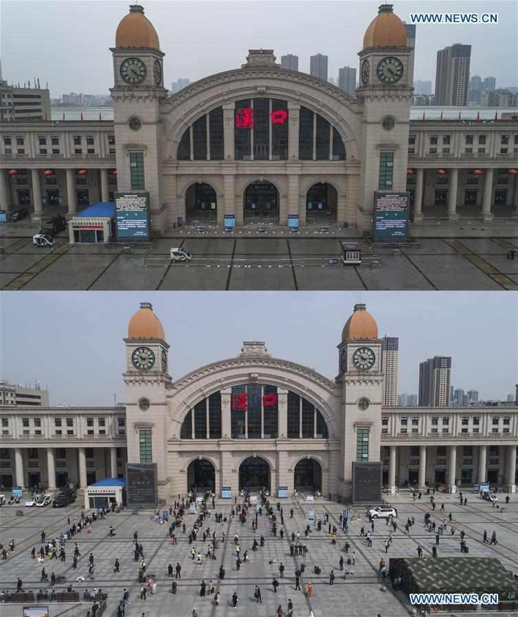CHINA-HUBEI-WUHAN-LIFE-RESUMING (CN)