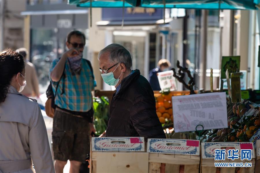 (国际疫情)(4)法国部分城市要求居民戴口罩出行