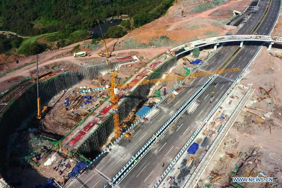 CHINA-CHONGQING-INFRASTRUCTURE-CONSTRUCTION (CN)