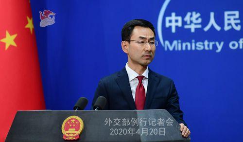 中国外交部发言人耿爽:美国的敌人是病毒不是中国
