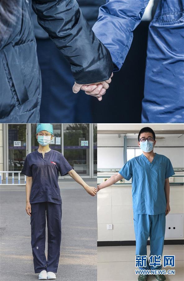 (圖片故事)(1)從湖北到北京:醫者夫妻攜手抗疫